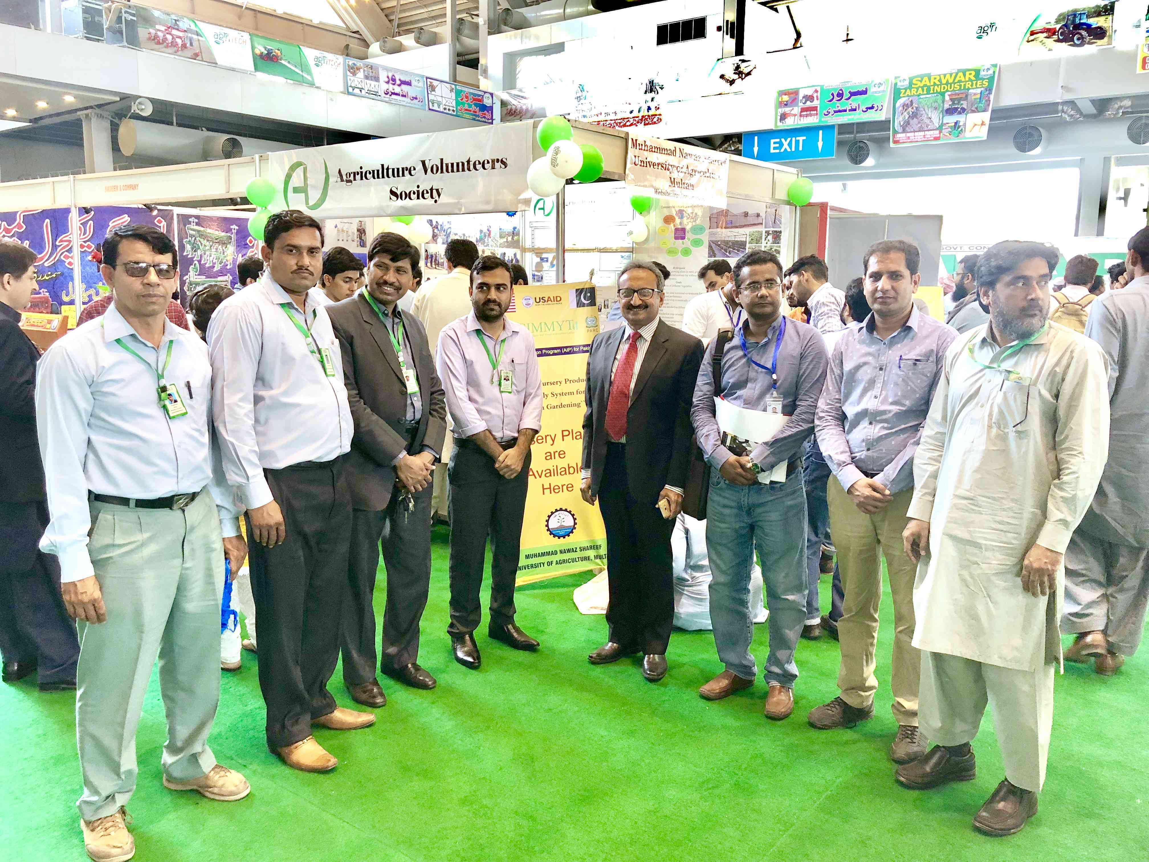 ESOLS Team at Expo Centre Lahore Pakistan