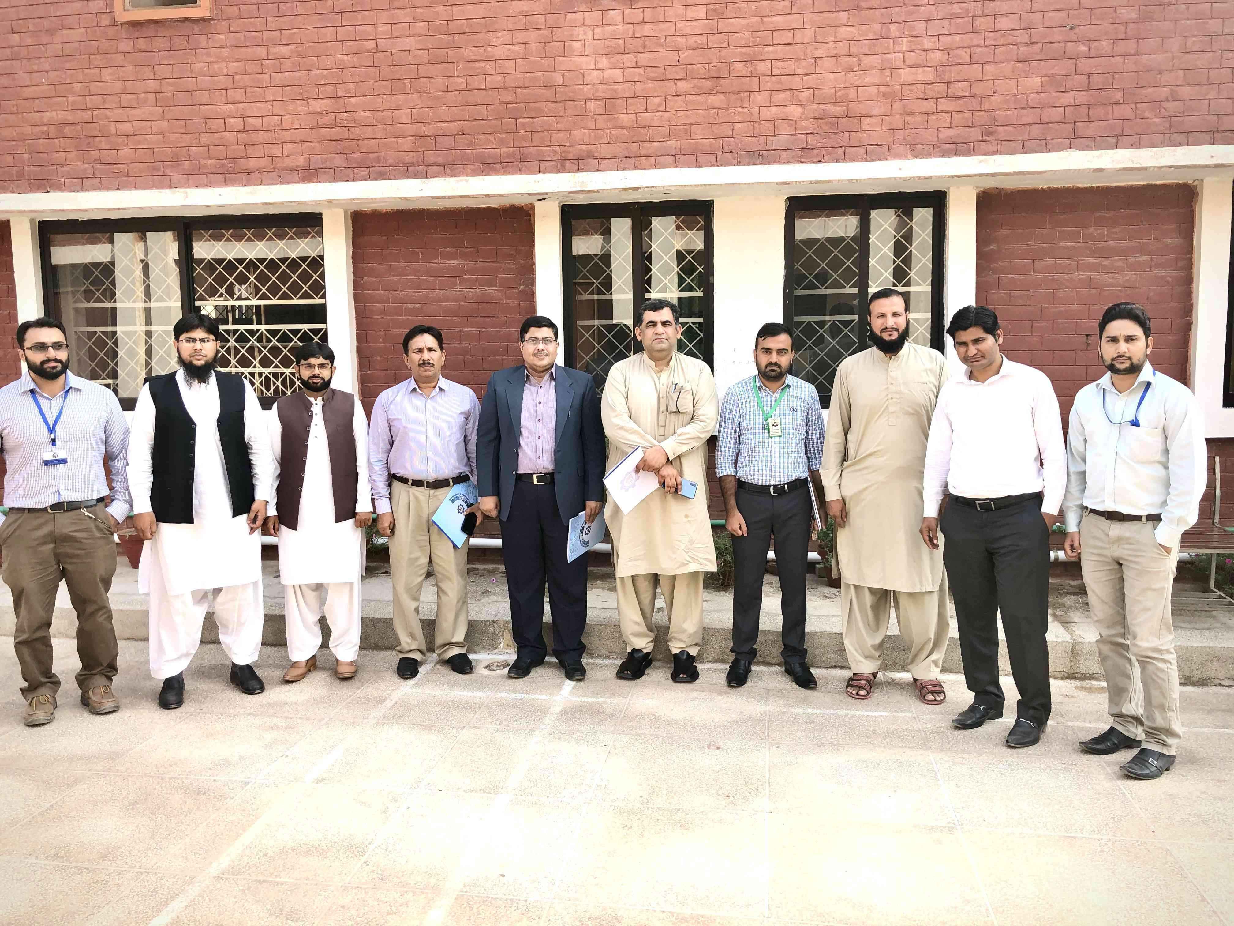 ESOLS Team participated in Industrial Advisory Board Meeting in MNSUET Multan