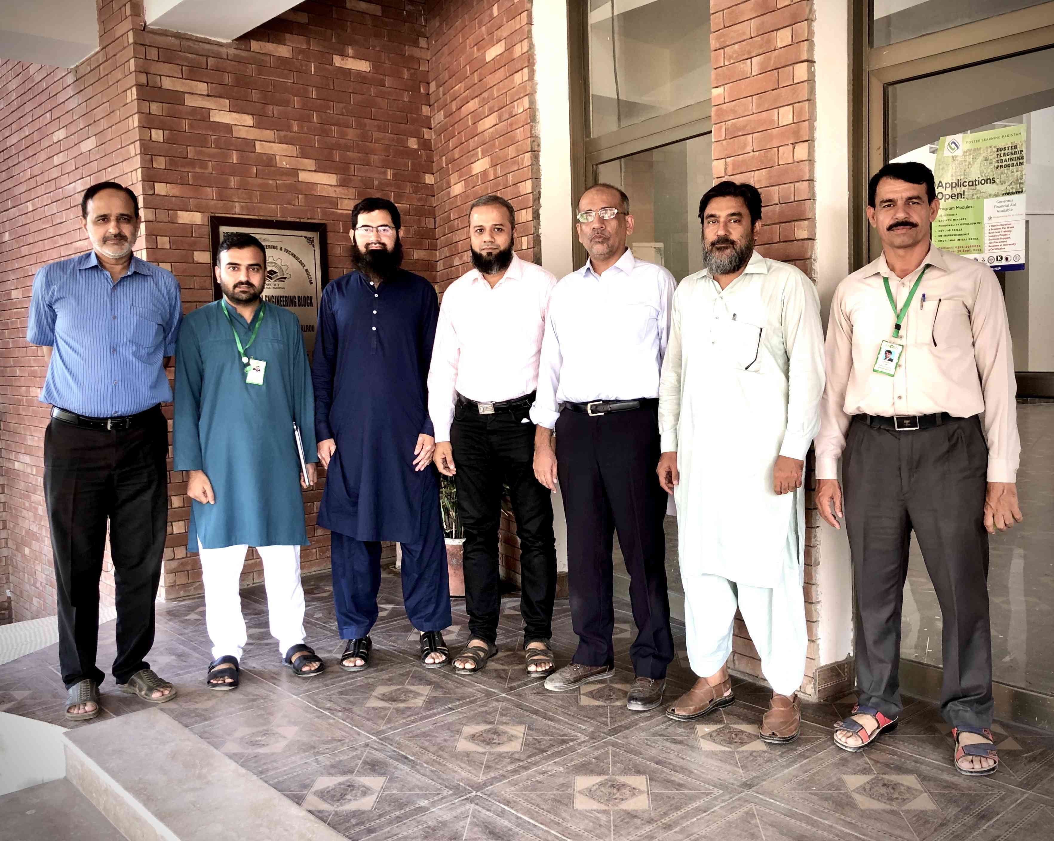 ESOLS signed MOU with Mechanical Department of NFCIET Multan